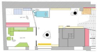 agencement magasin, réalisation de plan2D et vues 3D, architecture intérieur et conseil en parcours client, expertise merchandising prestation par le studio de design et fabrication superstrate à Toulouse